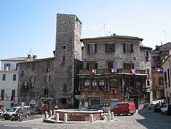 Central square in Narni.
