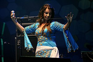 Hot Trip to Heaven - Natacha Atlas contributed additional vocals and percussion to the album.