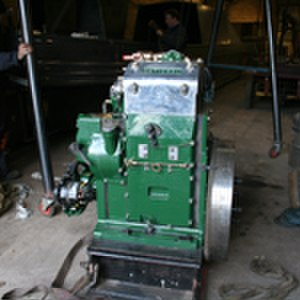 Hadar (narrowboat) - National DA2 Engine prior to installation