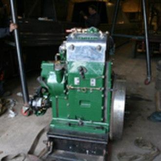 Hadar (narrowboat) - National DA2 Engine prior to installation