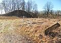 Nausodžio, Varkalių piliakalnis su gyvenviete. Senas ženklas.JPG