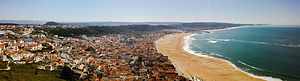 Nazaré, Portugal - Nazaré, Praia and Pederneira, seen from Sítio