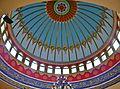 Nazareth Nabi-Sain-Moschee Innen Kuppel 1.JPG