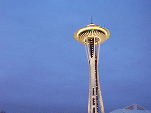 Seattle, Space Needle, USA