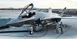 99th Air Base Wing - F-35A Lighting II at Nellis AFB, Nevada for Operational Testing
