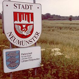 Wapenskyld fan Neumünster