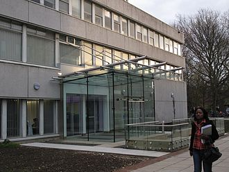 University of Hull - Wilberforce Building – entrance