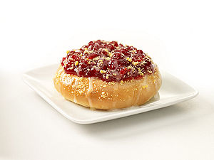 Kolach - New York-style strawberry kolach.