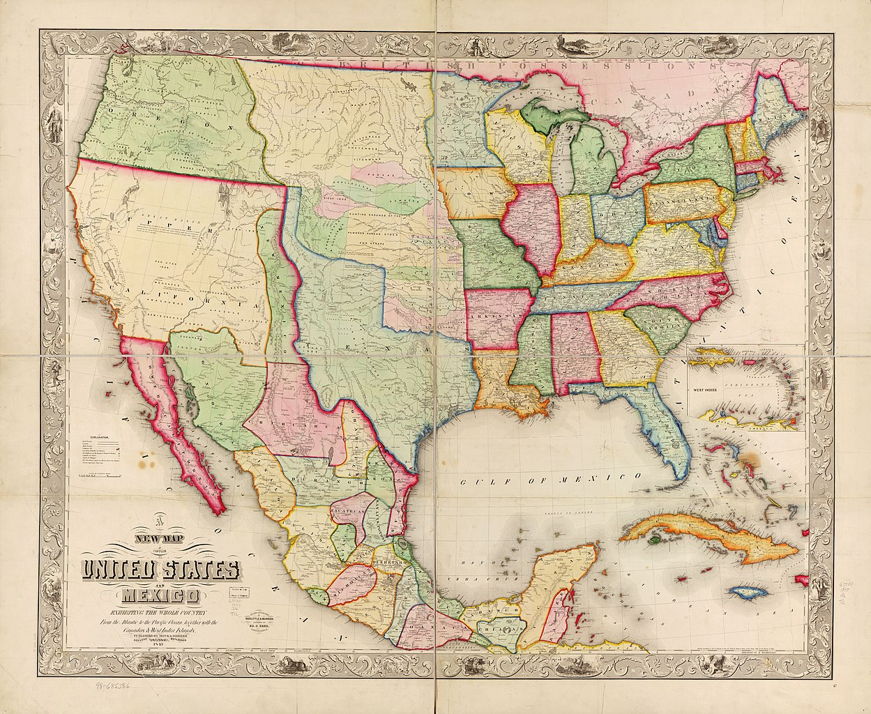 File:New map of the United States and Mexico. LOC 98685386 ...