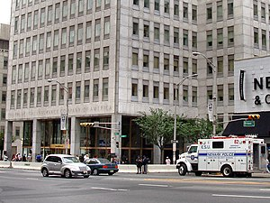 Prudential Financial - Homeland Security secured the Prudential Headquarters in August, 2004.