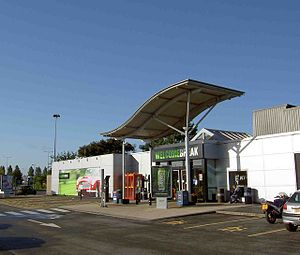 Newport Pagnell services - Image: Newport Pagnell Services