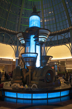 Niagara Fallsview Casino Resort - Hydro-Teslatron fountain