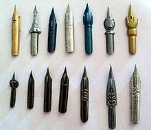 Various Models Of Dip Pen Nibs
