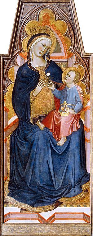 Niccolò di Buonaccorso - Madonna and Child