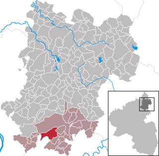 Niederelbert Place in Rhineland-Palatinate, Germany