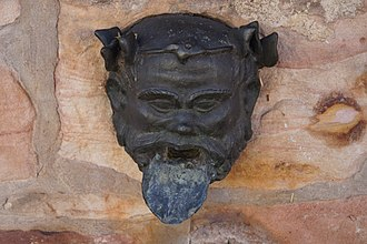 Niedernberg - Roman fountain mask (replica)