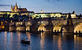 Night view of the Castle and Charles Bridge, Prague - 8019.jpg