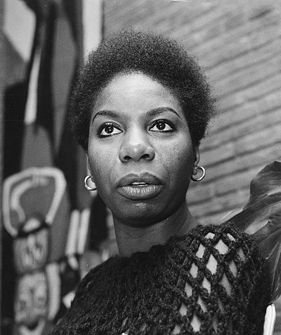 Picture of a band or musician: Nina Simone
