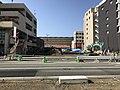 Nishitetsu-Kashii Station and Fukuoka Prefectural Road No.504.jpg