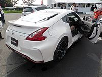2015 Nissan 370Z NISMO Rear (Note: The Smaller Rear Spoiler And Larger  Brake Heat Extractor Vents.)