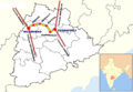 Nizamabad to Peddapalli Map.png