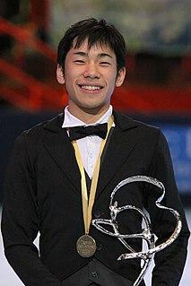 Nobunari Oda Japanese figure skater