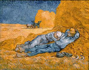 https://en.wikipedia.org/wiki/Copies_by_Vincent_van_Gogh#/media/File:Noon,_rest_from_work_-_Van_Gogh.jpeg