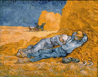 Noon, rest from work - Van Gogh.jpeg