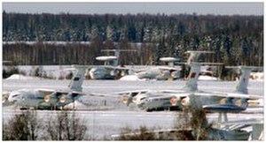 Ivanovo Severny (air base) - Image: Normalair