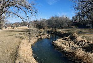 North Fork Republican River - The river in Wray, Colorado.
