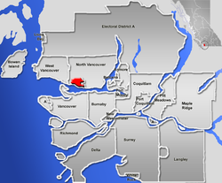 North Vancouver, British Columbia (city) Location.png