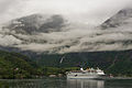 Northeast view of Flåm and CMV Magellan 20150617 1.jpg