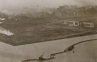 Northerly Island - Construction in 1921