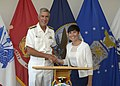 Norwegian delegation at Camp H.S. Smith 140630-N-DX698-056.jpg