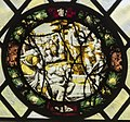 Norwich Cathedral, Stained glass roundel (48380510341).jpg