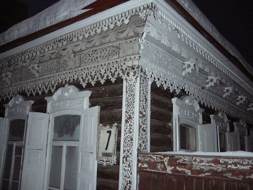 Novosibirsk picturesque-traditional-house
