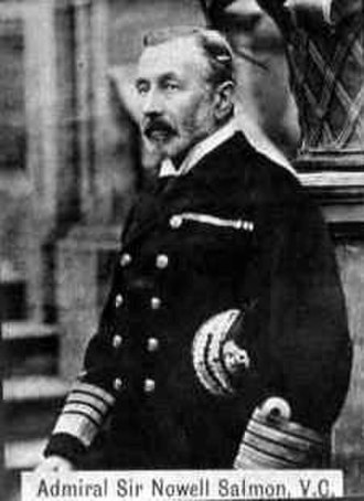 Nowell Salmon - Admiral Sir Nowell Salmon c.1890s