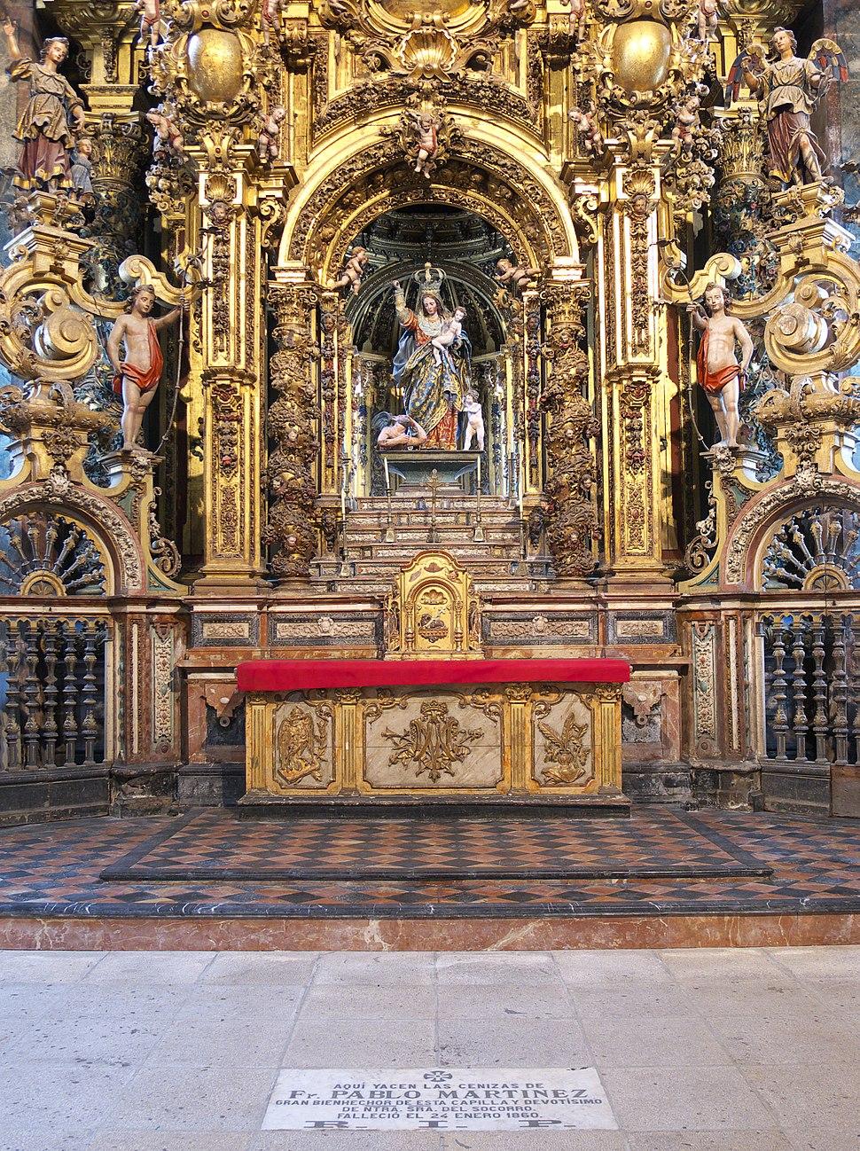 Nuestra Señora del Socorro (1668). San Martín Pinario