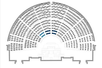 Marion Maréchal-Le Pen - National Assembly: benches in the hemicycle. During the XIVth legislature (2012–), bench n°67 is allocated to Marion Maréchal-Le Pen.