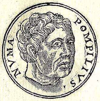 King of Rome - Image: Numa Pompilius, from Promptuarii Iconum Insigniorum