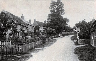 Nuthurst - Nuthurst village in the early 20th century
