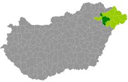 magyarország térkép nyíregyháza Nyíregyházi járás – Wikipédia magyarország térkép nyíregyháza