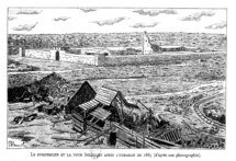 Obock penitentiary and tower after 1885 huricane.png