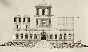 National Polytechnic School (Ecuador) - Artist Concepception,  Quito Astronomical Observatory, artist Ludwig Dressel (1873).