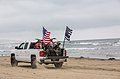 Oceano Beach Blue Lives Matter and American Flag Truck (28600534600).jpg