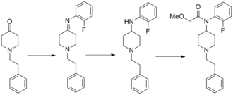 Ocfentanil - Image: Ocfentanil synthesis