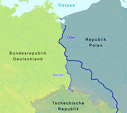 Oder and Neisse rivers