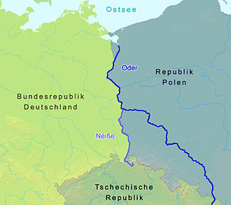 Oder–Neisse line - The Oder and Neisse rivers