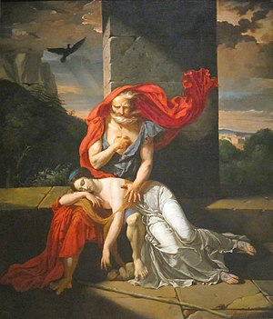 Fulchran-Jean Harriet - Oedipus at Colonus, 1798 (Cleveland, Museum of Art)