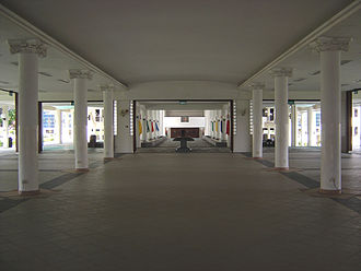 The Chinese High School (Singapore) - The Oei Tiong Ham Memorial Hall, situated directly below the Kong Chian Library.